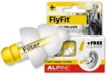 Ušesni čepi za letenje z mehkimi filtri
