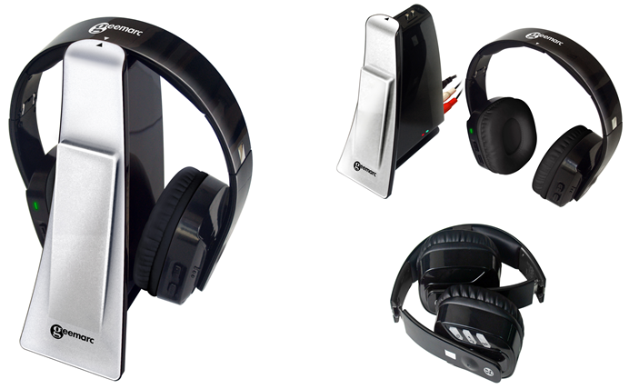 GEEMARC brezžične slušalke CL7400