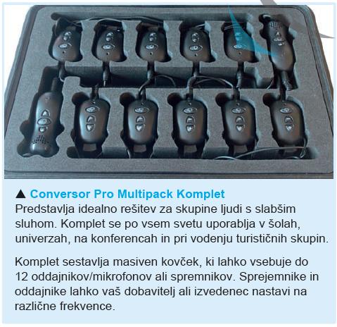 Conversor multipack komplet