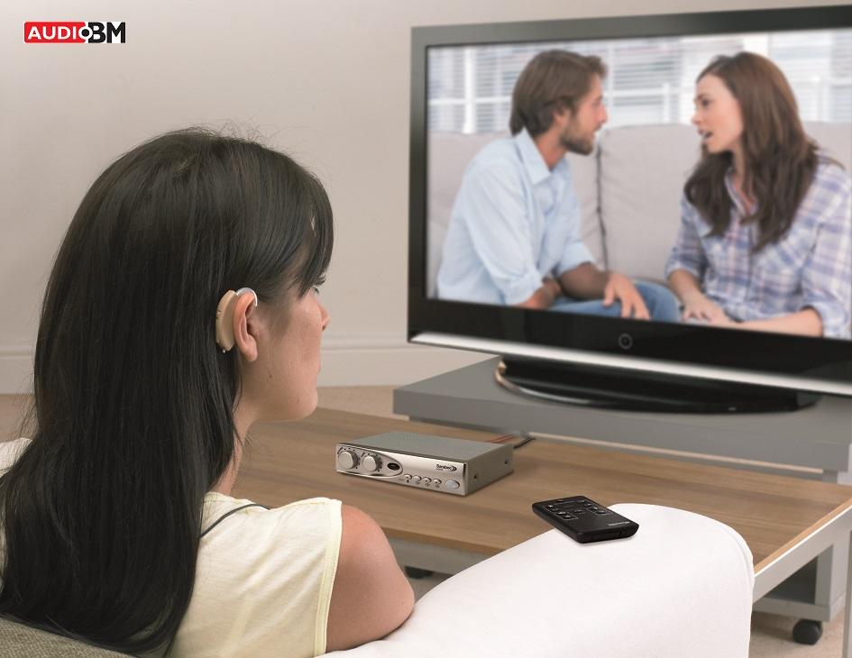 Brezžično poslušanje televizije