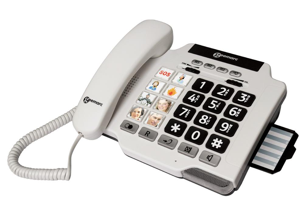 Stacionarni telefon izdelan za naglušne