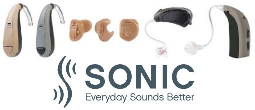 Sonic slušni aparati